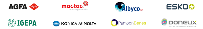 Logos des partenaires de l'événement