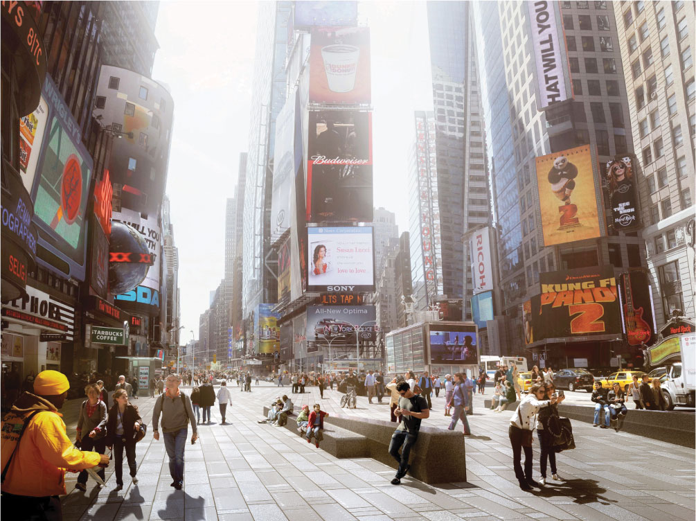 Bowtie Plaza Rendering, photo credit: Times Square Alliance