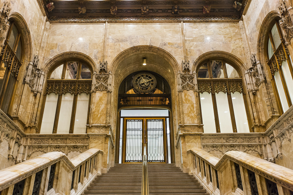 Woolworth Building Lobby. Photo Credit: Nicolas Lemery Nantel for OHNY