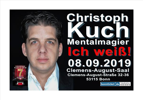 2 Rheinbuhne Festival 2019 Christoph Kuch Ich Weiss Tickets So