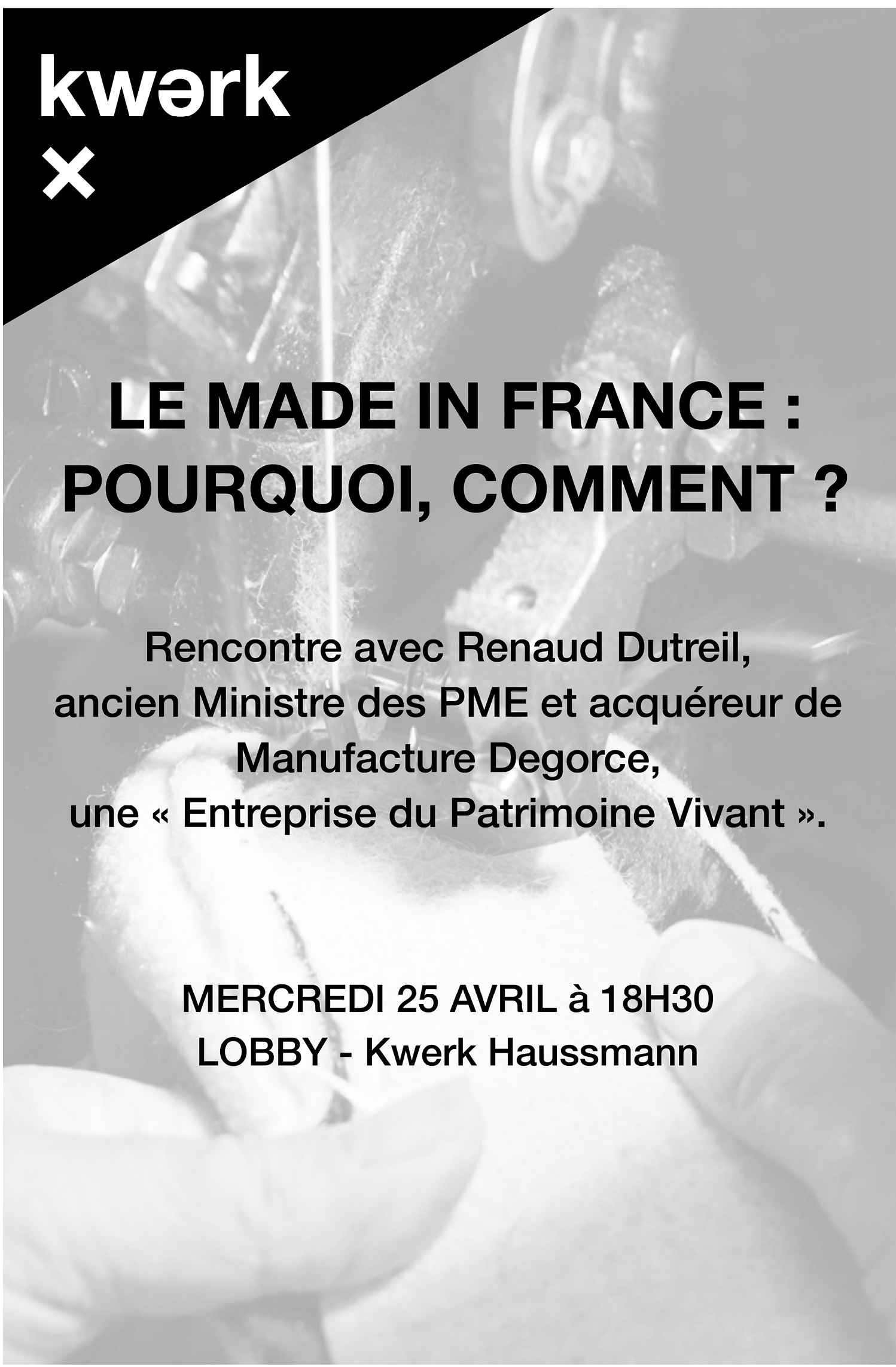 Conférence Made In France