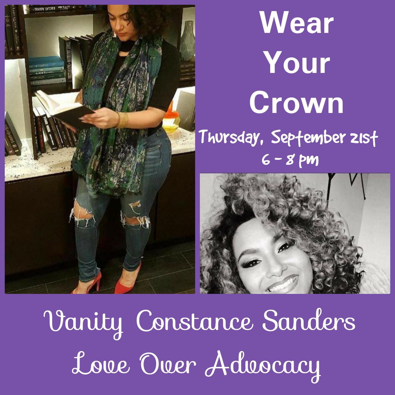 Vanity Constance Sanders