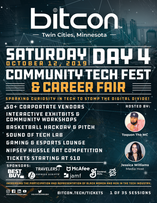 BITCON2019 - Blacks in Technology Annual Conference Tickets