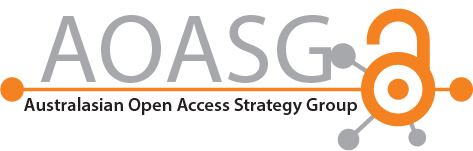 Australasian Open Access Strategy Group (AOASG) Logo