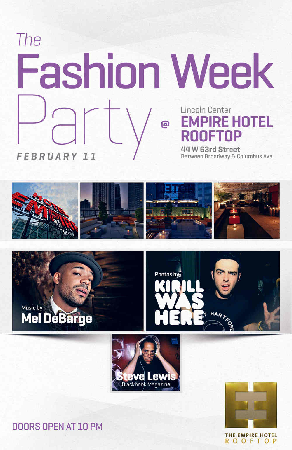 Fashion Week Afterparty At Empire Hotel