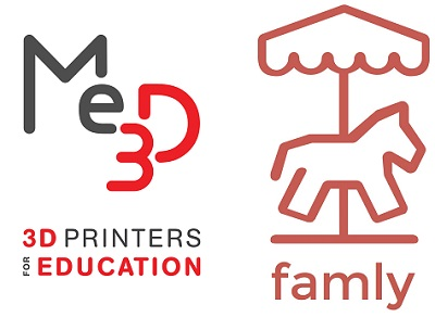me3D and Famly Logo