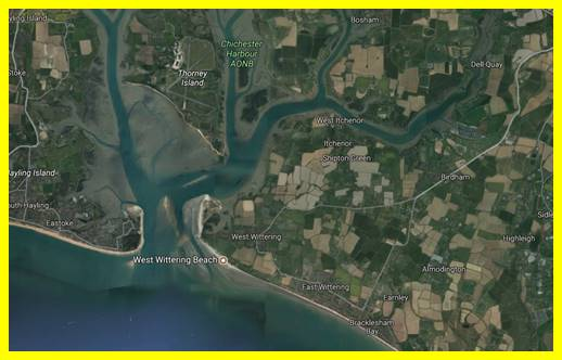 Chichester Harbour is an important habitat for migrating birds as well as a SSSI