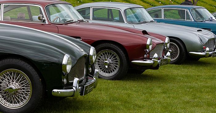 GNCCS Aston Martin Timeline