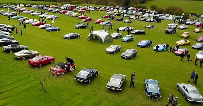 Great North Classic Car Show 2019 fly past