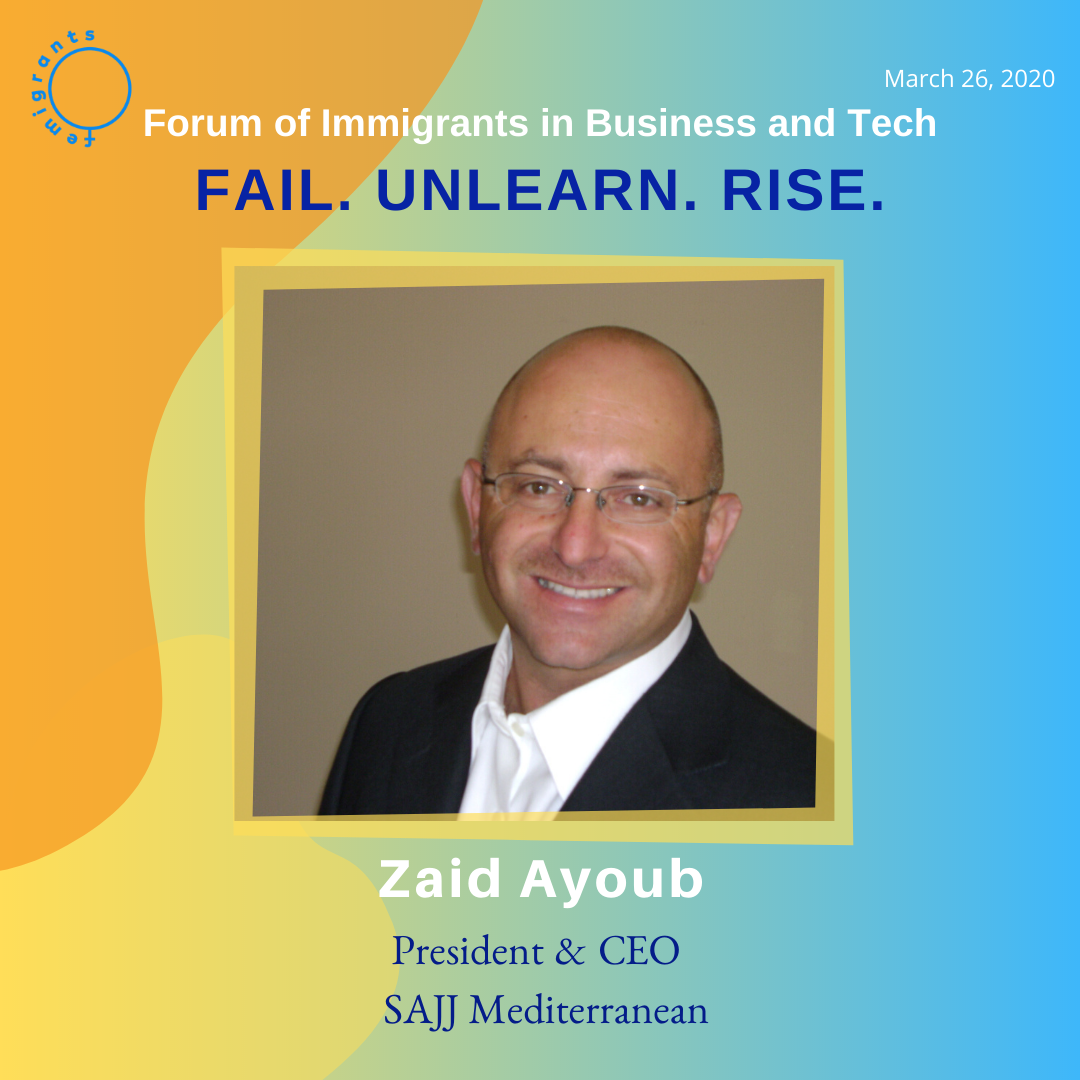 Zaid Ayyoub, Sajj Mediterranean. Femigrants2020