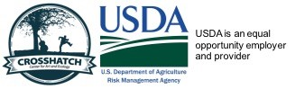 Crosshatch/USDA Logo