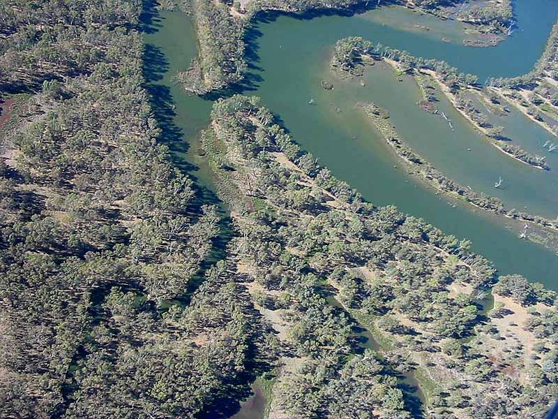 Ovens River near Mulwalla
