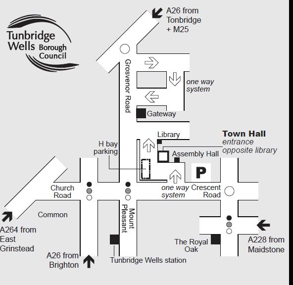 Tunbridge Wells Map