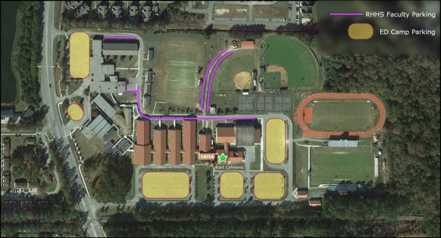 RHHS Parking Map