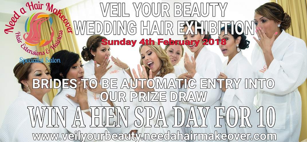 veil your beauty wedding hair exhibition prize draw