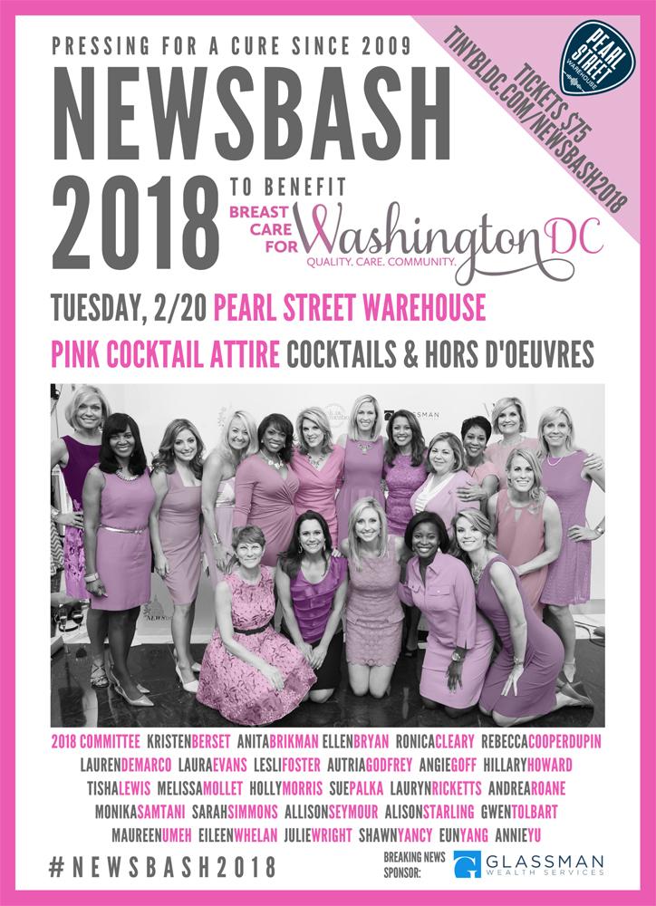 NewsBash 2018 invitation