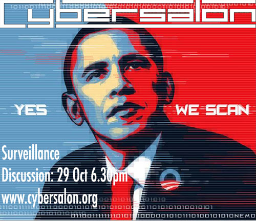 Yes We Scan- Surveillance Discussion 29 Oct 6.30pm