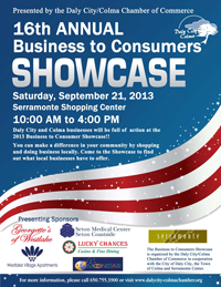 16th Annual Business 2 Consumers September 21 at Serramonte Center Shopping Center