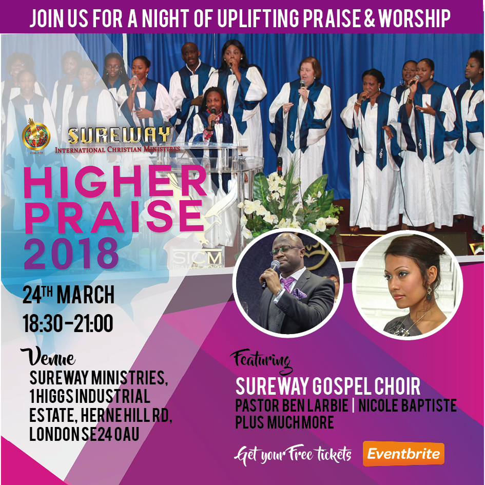Higher Praise 2018 choir and guest musicians