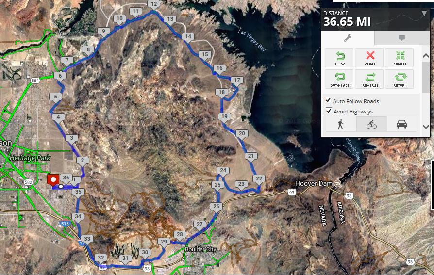 36.6 Mile Ride