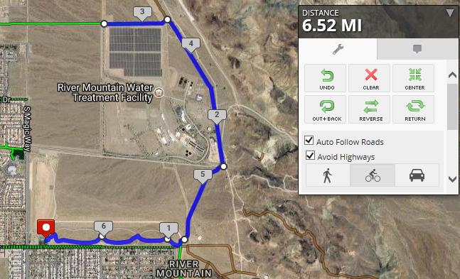 6.5 Mile Ride