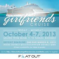 FLAT OUT OF HEELS GIRLFRIENDS CRUISE!!!
