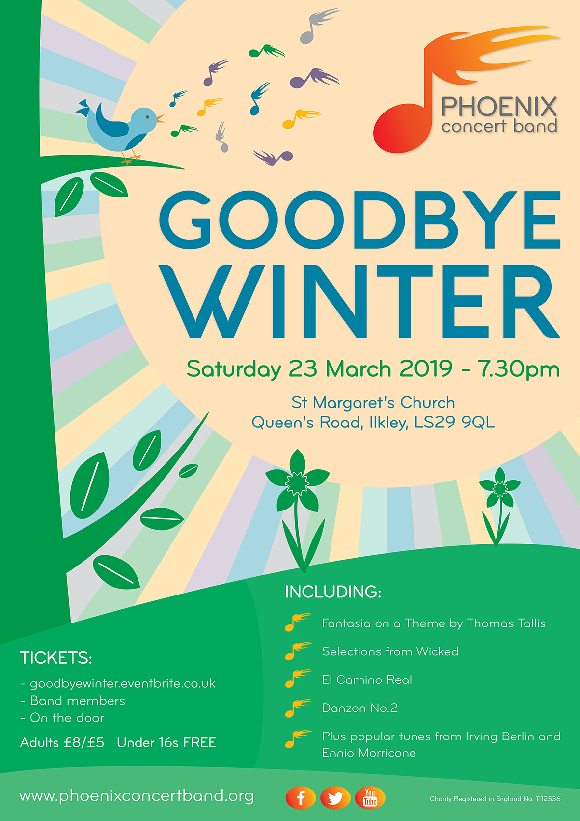 Goodbye Winter concert poster image