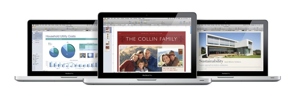 iWork MacBook Pro