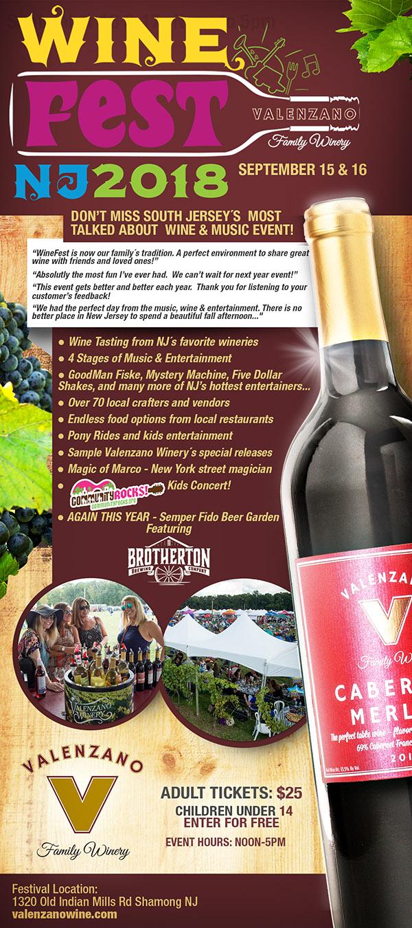 WineFestNJ Flyer
