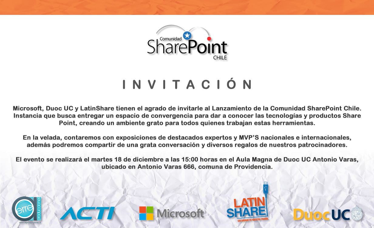 Comunidad SharePoint Chile
