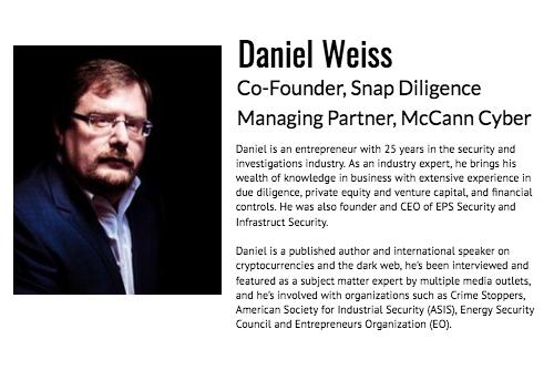 Daniel Weiss Managing Partner McCann Cyber