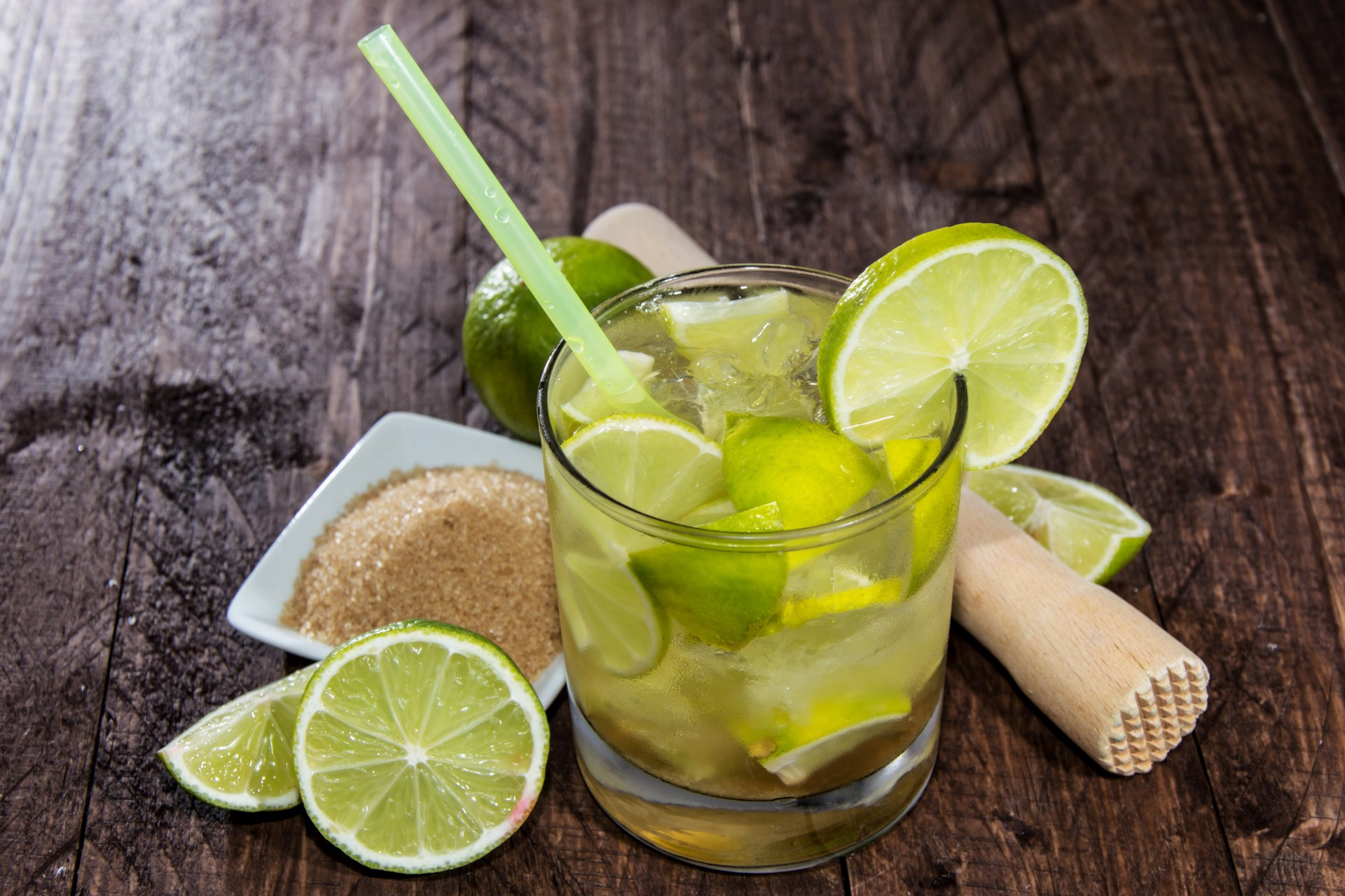 Caipirinha is Brazil's national cocktail. It tastes like rum with a ...
