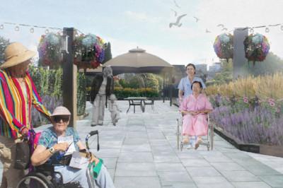 Artist rendering of future garden (1)
