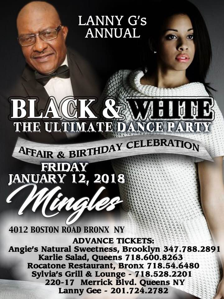 LANNY G'S ANNUAL BLACK AND WHITE AFFAIR