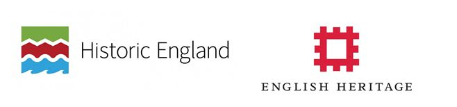 Historic England and English Heritage logos