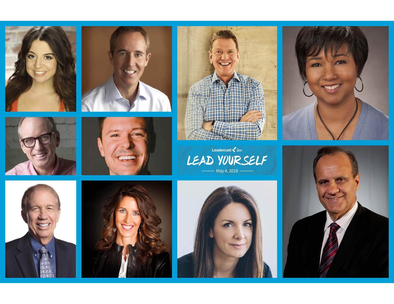 Leadercas Speaker Collage