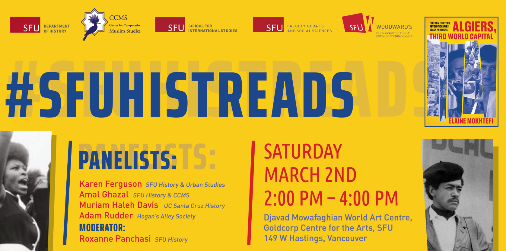 #SFUHISTREADS 2019 Infographic