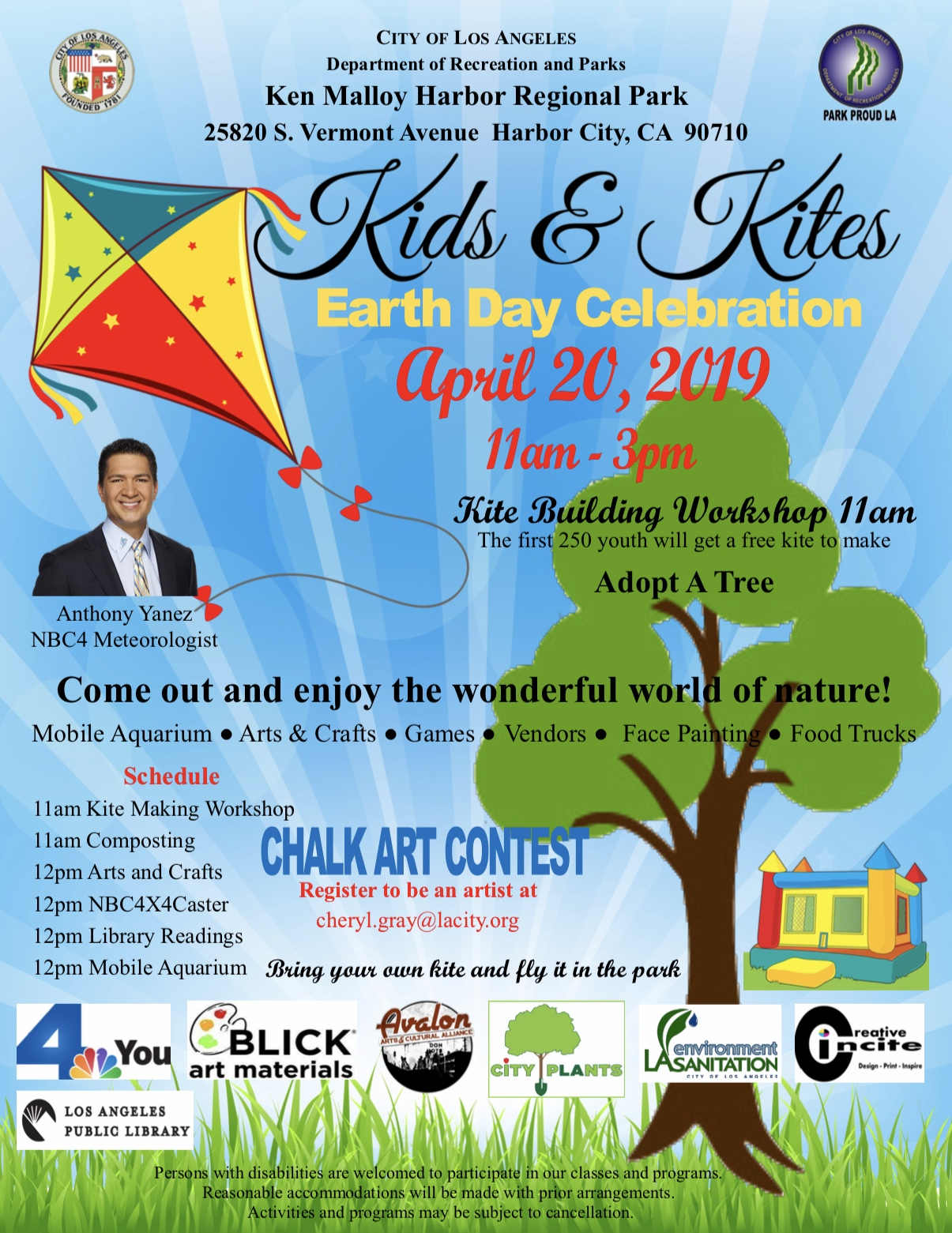 Kids and kites flyer