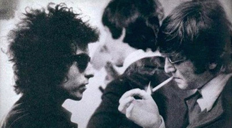 Bob Dylan with Beatles