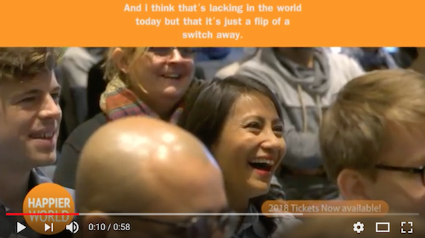 Sample video happier world conference
