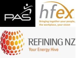 RNZ, PAS Global & HFEX logos