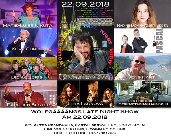 Unsere Late Night Show Guests