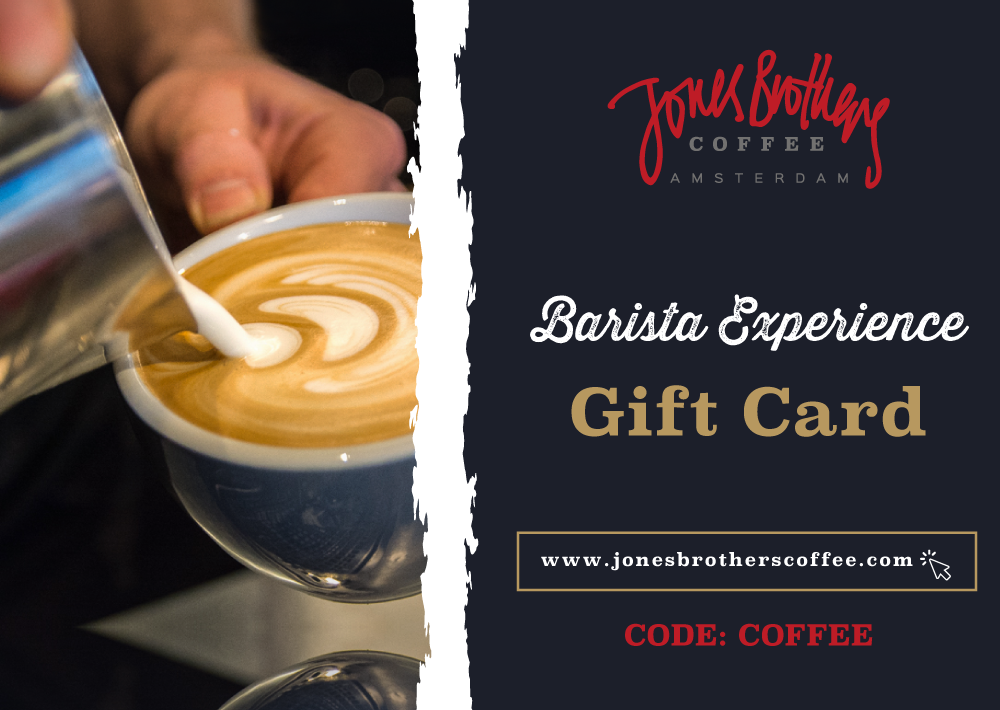 Barista Experience Gift Card