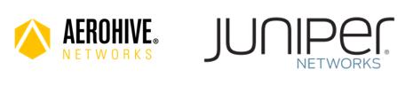 Aerohive Juniper logos