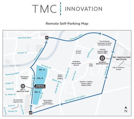 TMCx Shuttle Parking