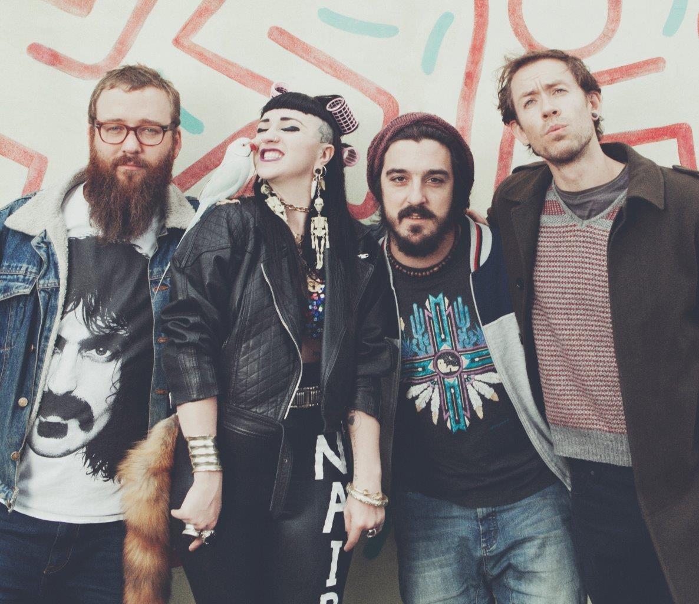 Hiatus Kaiyote foto de la banda 2019