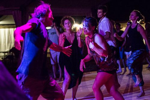 Dancing the night away again and again