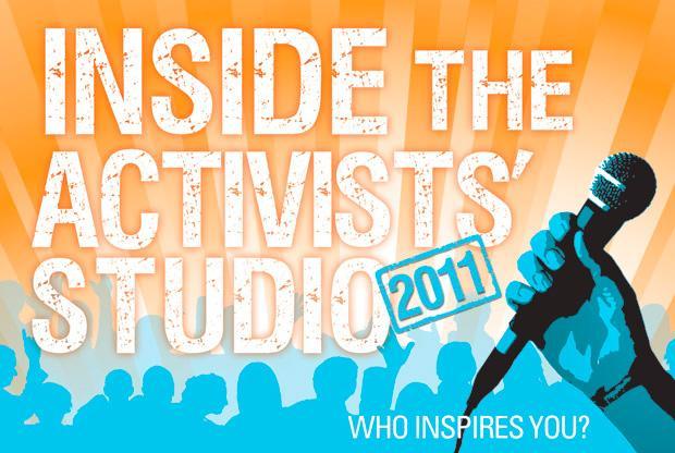 Inside the Activists' Studio 2011
