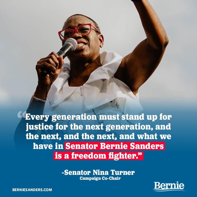 Former Ohio State Senator Nina Turner