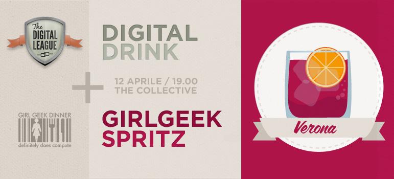 12 aprile DigitalDrink con Girl Geek Dinners Verona